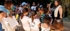 Visita niños a la Alhambra